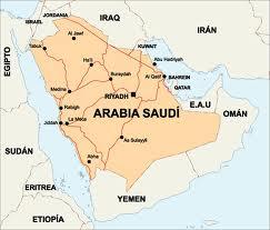 Mapa Arabia