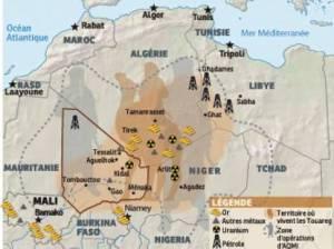 territorio tuareg y minerales en elwatan