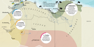 Mapa de Libia Le Monde 26_08_14