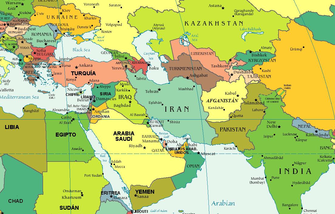 Oriente Medio  Paz y Seguridad Internacional