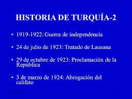 Historia Turquía