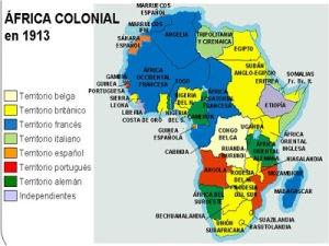 África colonial 1913