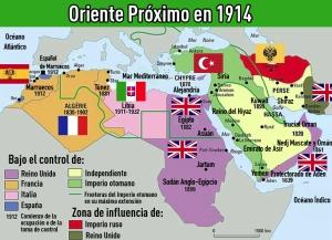 Oriente Próximo en 1914